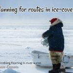 Passage Planning in or near ice limit
