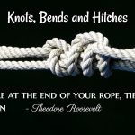 Types of Knots, Bends and Hitches used at sea