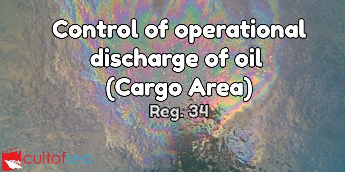 Discharge oil reg 34