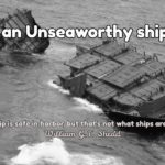 Unseaworthy and Unsafe Ship's as per MSA 1958